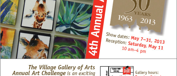 Image of VGA 2013 Art Challenge Invitation