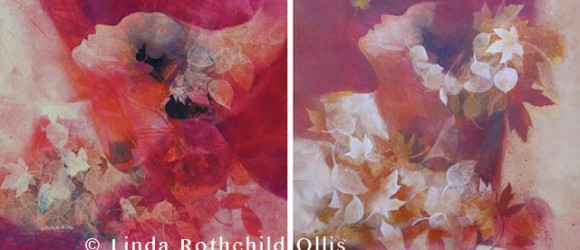Image of flower painting by Lind Rothchild Ollis
