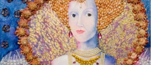 Donna Zenobia Saffir painting of Victorian Queen
