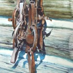 image of Reins, painting by Joanna Hay